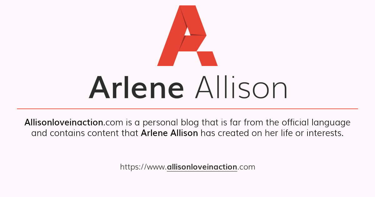 Arlene Allison - Personal Blog